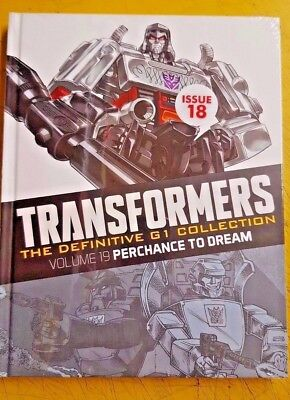 "TRANSFORMERS  DEFINITIVE "" G1"" COLLECTION, = ISSUE 18 Perchance to dream vol 19"