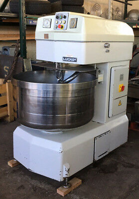 LUCKS VMI Spiral Mixer Model SM160 flour capacity 220 lbs
