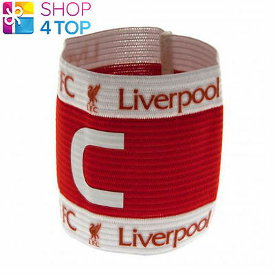 Liverpool Fc Captains Armband Sweatband Red Official Football Soccer Club Team