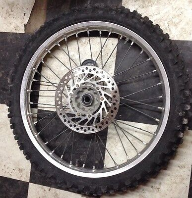 Honda Crf450r Crf 450r 2003 Front Wheel Tire Hub Disc Brake 7031541D