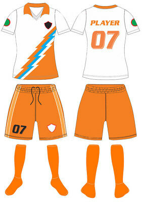0ca40e526 12 CUSTOM MADE Soccer Uniform Sets Sublimated With Name Number Adult ...