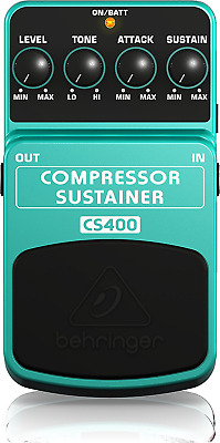 Behringer CS400 Compressor / Sustainer Effects Pedal