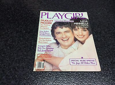 PLAYGIRL  AUGUST 1991  Dudley Moore and Liza Minnelli  Magazine vintage