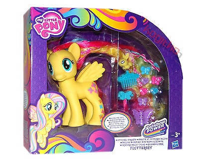 My Little Pony MLP Deluxe NEW- Fluttershy A5933 Styling Pony Horse Hair