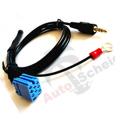 Aux In Interface Adapter Cable for VW Alpha Beta Gamma Premium McD MFD SatNav