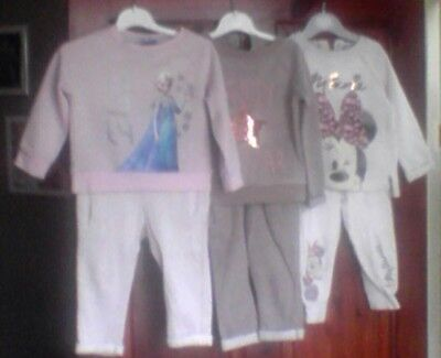 girls 3x tracksuit 12-18 months