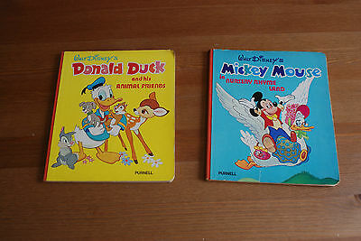 Pair of 1974 Walt Disney Books