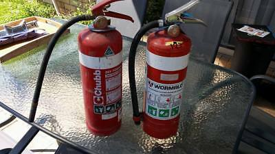 Fire Extinguisher - Never Used