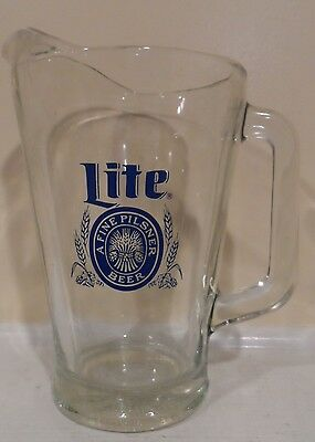 Pilsner Lit Beer Pitcher 48 Oz Man Cave
