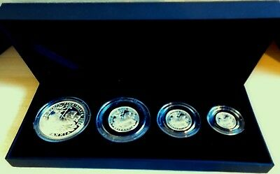 2009 BRITANNIA SILVER PROOF SET - 1.85 troy ounces of pure silver - top grades