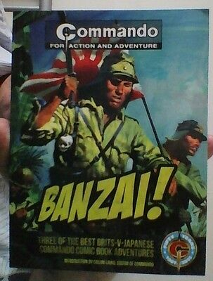 Banzai! - Commando  UK comic book.