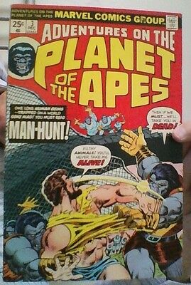 Adventures On The Planet of the Apes  # 3 - Marvel US comic