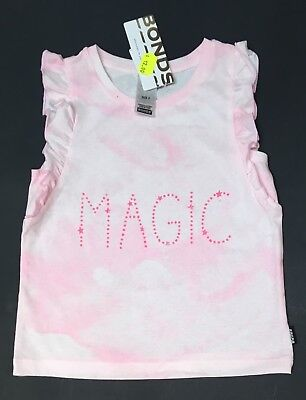 NEW BONDS Girls Summer Top Tshirt Singlet Short Sleeve Size 3 Years Old RR$19.95