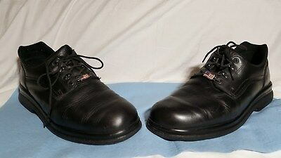 RED WING 8618 Black Leather Oxfords Shoes Men's Size: 13 D
