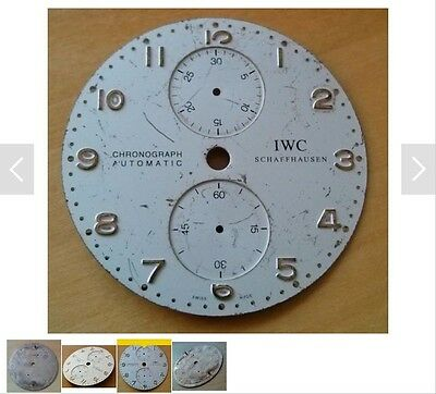 Watch Dial Restoration Refinishing Service For Chronograph Dial