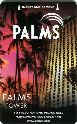 Las Vegas Palms Casino Palms Tower Room Key