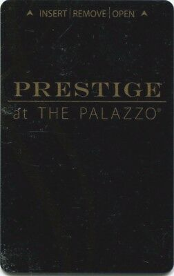 Las Vegas The Palazzo Casino PRESTIGE Room Key - Black