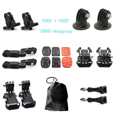 21 In 1 Outdoor Sport Accessory Parts Bundle Kit For Gopro Accessories 5 4 3 2 1