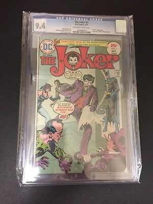 The Joker 1 !! Cgc 9.4 !! Classic Cover !! Bronze Age Beauty !!