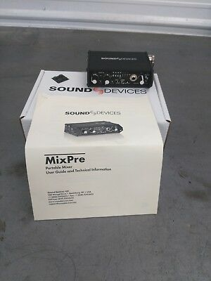 Sound Devices  MixPre - Portable 2 Channel Microphone Field Mixer
