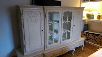 Beautiful Large Louis Armoire XV Dresser, Sideboard, Display Cabinet