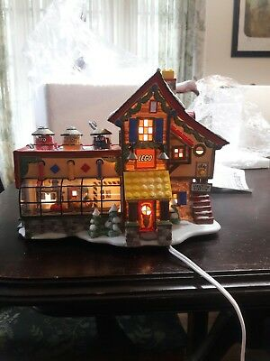 department 56 north pole series Lego house #56.56735