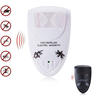 Ultrasonic Electronic Anti Mosquito Tools Indoor Pest Mice Bug Control Repeller