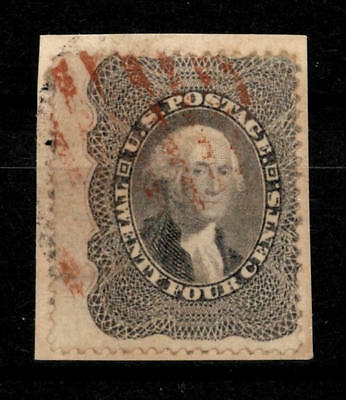 USA, 1860, George Washington 24c, Mi. #13, Sc. #37, cancelled