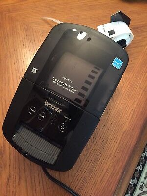 Brother High-Speed Label Printer with Wireless Networking QL710W