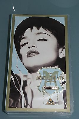 Rare VHS video tape - MADONNA THE IMMACULATE COLLECTION