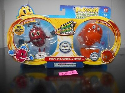 New In Package!  Pac-Man And The Ghostly Adventures Pac's Pal Spiral Clyde A5-22
