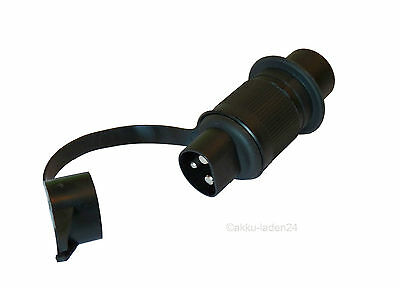 fahrzeugstecker 3 POLE TRAILER PLUG FOR TRACTOR UNIMOG Vehicle DIN 9680