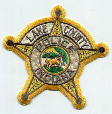 Lake County Indiana Police Patch // FREE US SHIPPING!