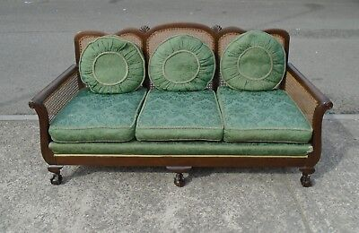 Original Art Deco 3 Seater Sofa For Reupholstery      Delivery Available