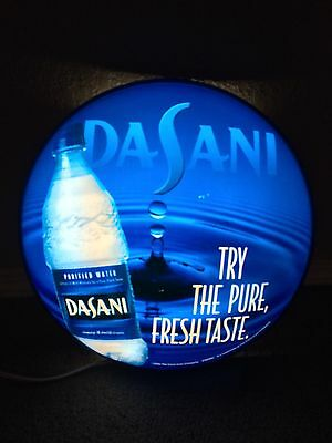 Dasani Purified Drinking Water Light Up  Sign Advertisement