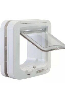 GENUINE SureFlap Microchip CatFlap White (X-Display)