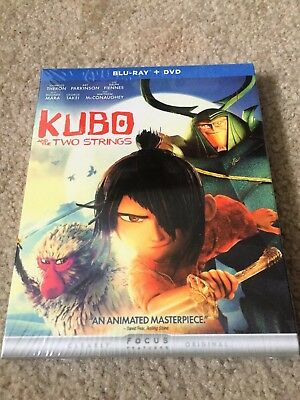 Kubo and the Two Strings (Blu-ray/DVD, 2016, 2-Disc Set)