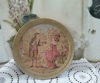 french tapestry picture love scene