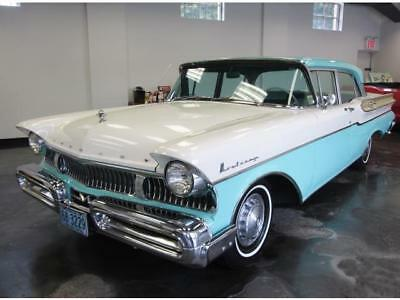 1957 Mercury Monterey Sedan 1957 Mercury Monterey Sedan 3 Speed Manual Stunning Car Rare Find Must Be Seen