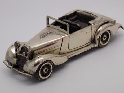 Vintage Solid Silver BIG & HEAVY Andro Vintage Car - Stamped - Made in Italy