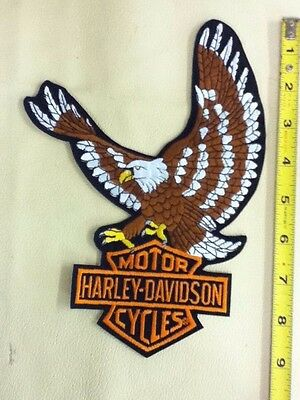Vintage Officially Licensed Harley Davidson Eagle With Bar & Shield