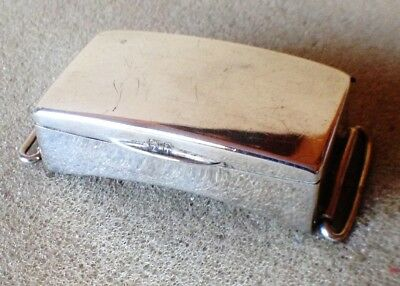 Solid Silver Antique vesta case or box 1904