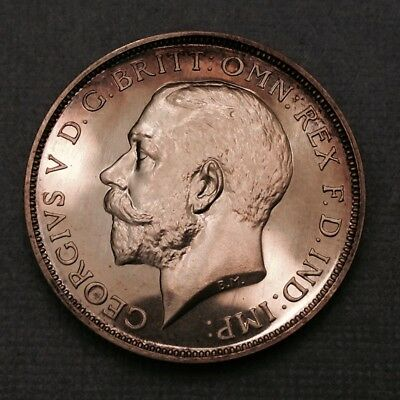 - 1911 Great Britain Proof Silver Florin George V - Only issue 6007 Minted