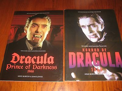 Horror - Movie monsters collection Dracula and Dracula prince of darkness