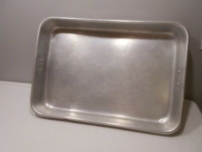 "26""x18""x3 1/2"" Deep Aluminum ABP-1826H Korea UpDate Cooking Pan Good Condition!"