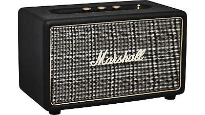 Marshall Acton Loud Bluetooth Wireless Speaker Active Stereo Speakers Black