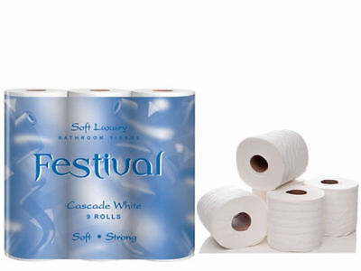 Lowest Priced 54 2Ply Toilet Rolls On E-Bay + Free P&p Limited Dont Miss Out