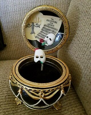 As-is San Francisco Music Box Phantom of the Opera Music of the Night Music Box