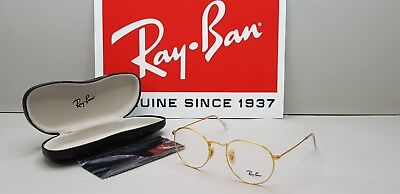 Ray-ban Round Metal RB 3447V 2730 Unisex Glasses