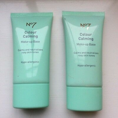 Boots No7 colour calming make up base 40ml - New (plus another 30ml tube)